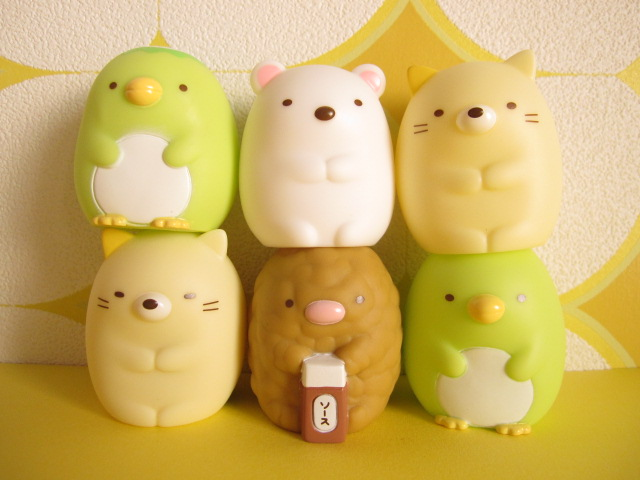 Photo1: 6 pcs Kawaii Cute Mini Dolls Set San-x *Sumikkogurashi