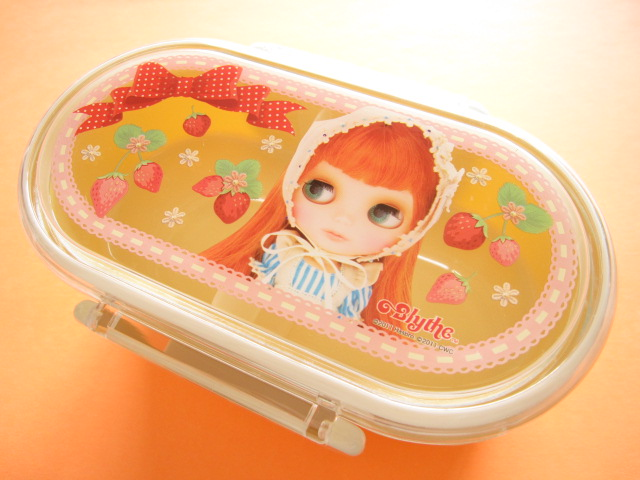 Photo1: Kawaii Cute Blythe Doll Bento Lunch Box Container *Ichigochan