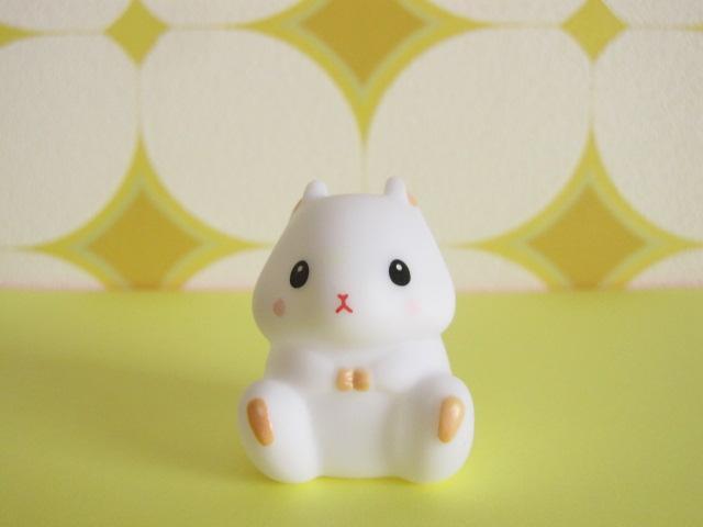 Photo1: Kawaiil Cute Korohamu Koron Mini Figure Doll *White