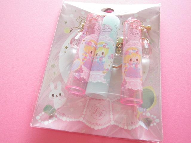 Photo1: 3 pcs Kawaii Cute Pencil Caps Set Q-lia Little Fairy Tale *Rapunzel (04543)