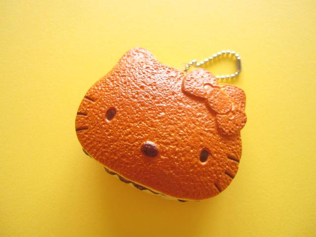 Photo1: Kawaii Cute Hello Kitty Squishy Keychain Charm Sanrio *Dorayaki Pancake
