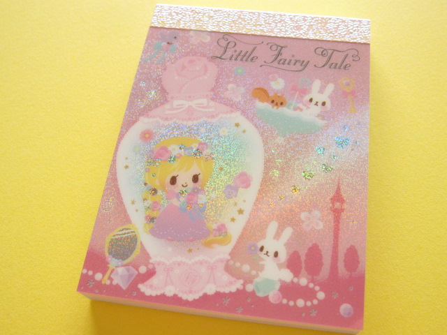 Photo1: Kawaii Cute Mini Memo Pad Q-LiA *Little Fairy Tale (04561)