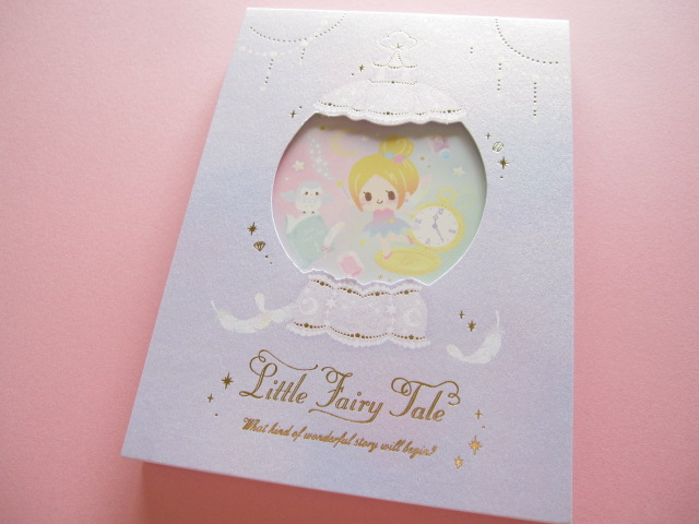 Photo1: Kawaii Cute Large Memo Pad Little Fairy Tale Q-LiA *Tinker Bell (04567)