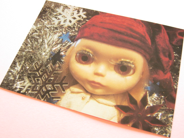 Photo1: Cute Blythe Doll Postcard *Winter