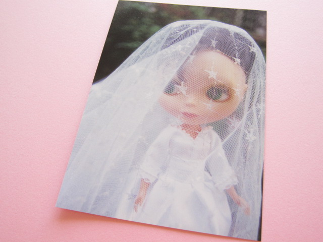 Photo1: Cute Blythe Doll Postcard *Wedding dress