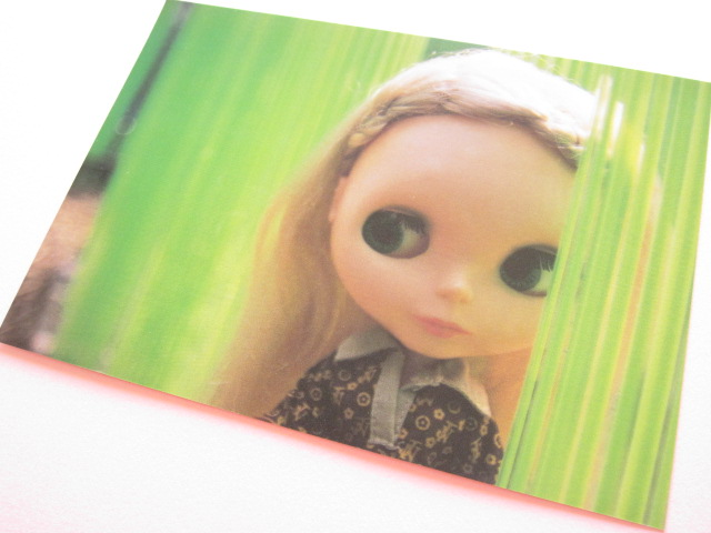 Photo1: Cute Blythe Doll Postcard *Green