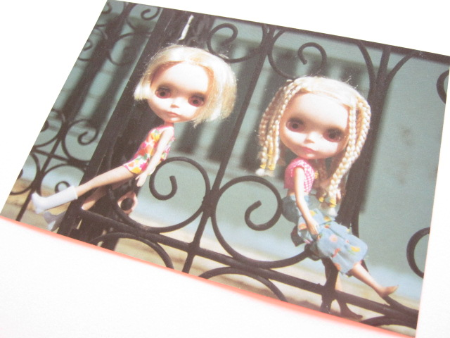 Photo1: Cute Blythe Doll Postcard *Friends