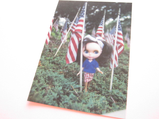 Photo1: Cute Blythe Doll Postcard *Flags