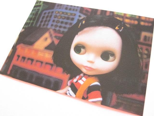Photo1: Cute Blythe Doll Postcard *Hair clips