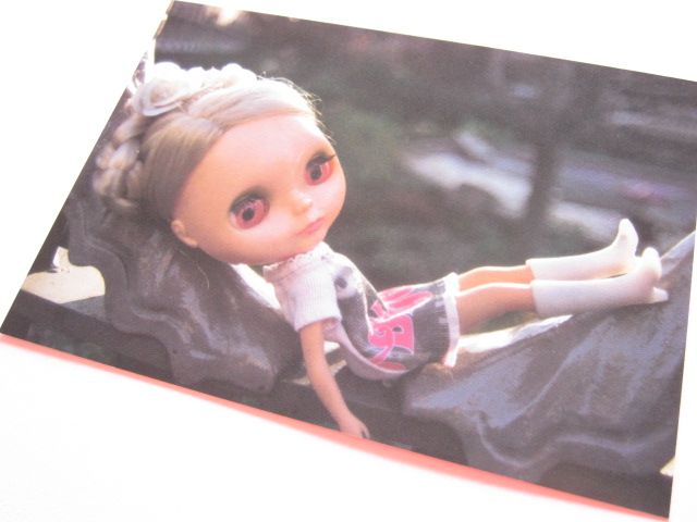 Photo1: Cute Blythe Doll Postcard *White boots