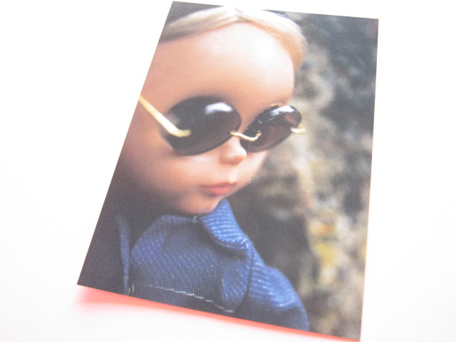 Photo1: Cute Blythe Doll Postcard *Sunglasses