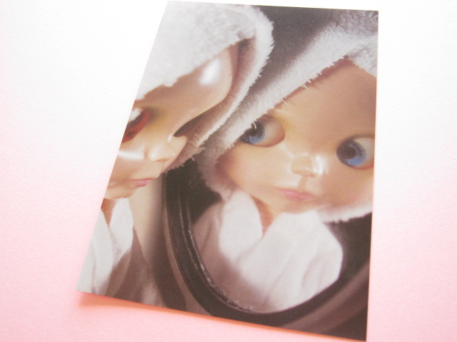 Photo1: Cute Blythe Doll Postcard *Mirror