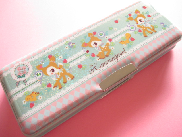 Photo1:  Kawaii Cute Pen/Pencil Case/Box Sanrio Original *Hummingmint (90407-4)