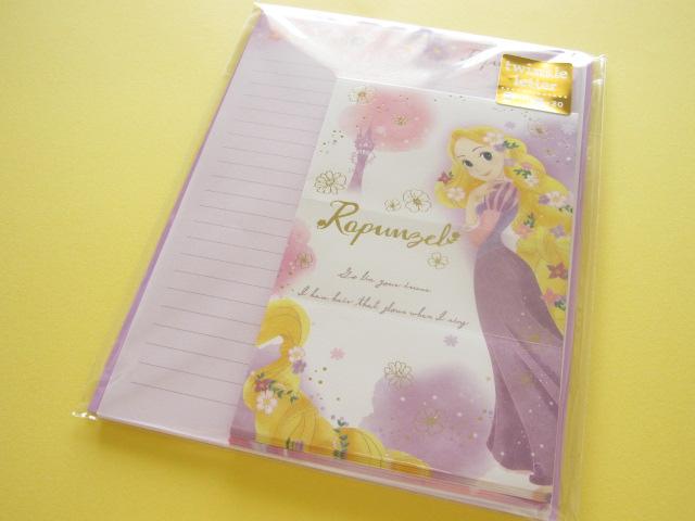 Photo1: Kawaii Cute Twinkle Letter Set Kamio *Rapunzel (47449)