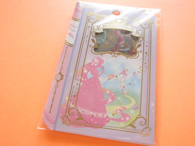 Photo1: Kawaii Cute Sticker Flakes Sack Prologue Princess Q-LiA *Rapunzel (21020)