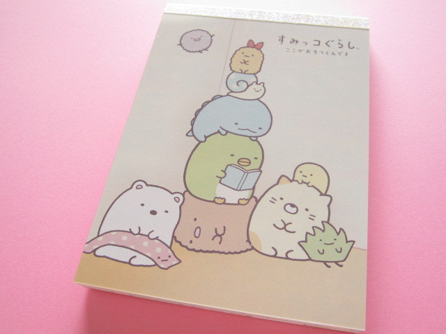 Photo1: Kawaii Cute Large Memo Pad San-x Sumikkogurashi *いつものすみっコ (MW29201)