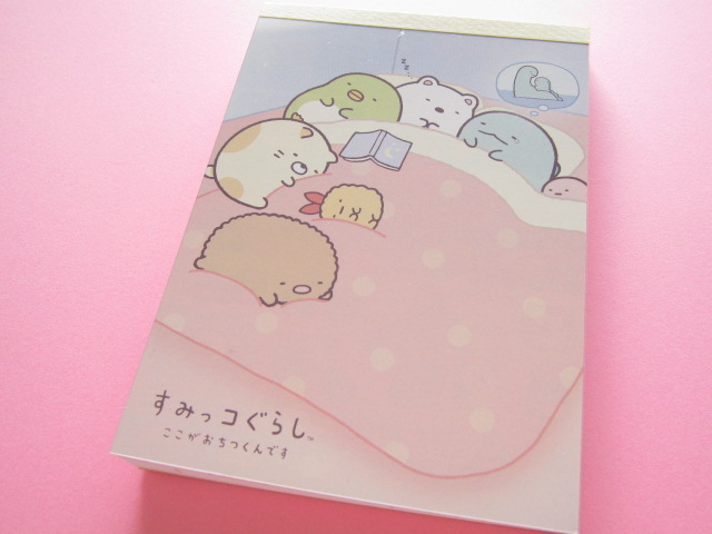 Photo1: Kawaii Cute Large Memo Pad San-x Sumikkogurashi *いつものすみっコ (MW29301)