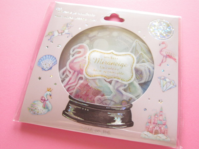 Photo1: Miraneige Sticker Flakes Sack Q-LiA *Sugary Dream (21091)