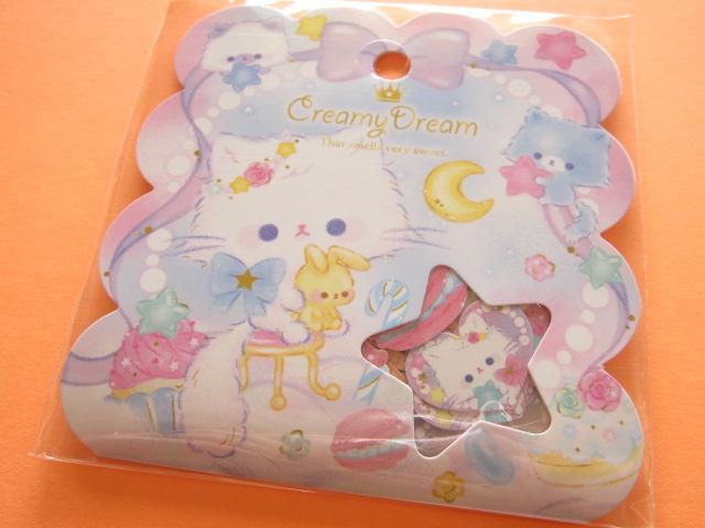 Photo1: Kawaii Cute Sticker Flakes Sack Q-LiA *Creamy Dream (21119)