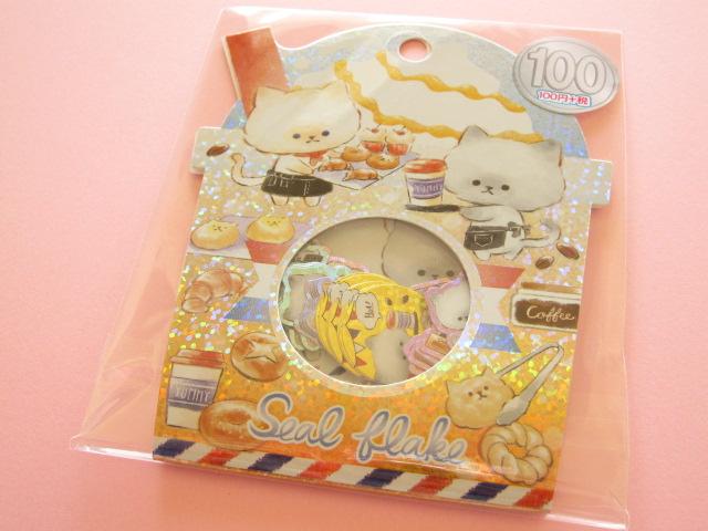 Photo1: Kawaii Cute Sticker Flakes Sack Kamio Japan *Late & Nero (04225)