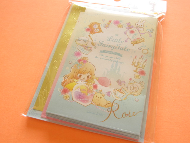 Photo1: Kawaii Cute Mini Letter Set Little Fairy Tale Q-LiA *Tinker Bell (24470)