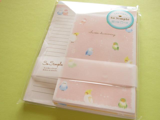 Photo1: Kawaii Cute Letter Set Crux *Sweet humming (08765)