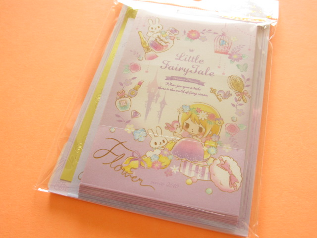 Photo1: Kawaii Cute Mini Letter Set Little Fairy Tale Q-LiA *Rapunzel (24471)