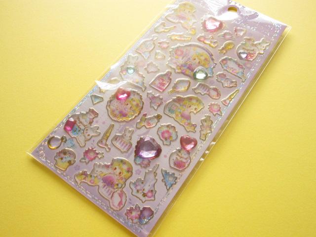 Photo1: Kawaii Cute Candy Sticker Sheet Little Fairy Tale Q-LiA *Rapunzel  (24441)
