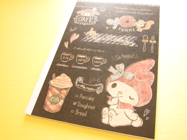 Photo1: Kawaii Cute B5 Notebook Sanrio *My Melody (49474)
