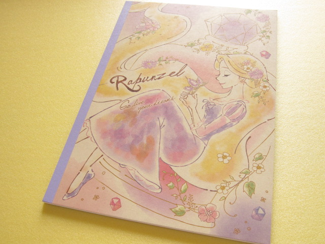 Photo1: Kawaii Cute B5 Notebook Crux *Rapunzel (48313)