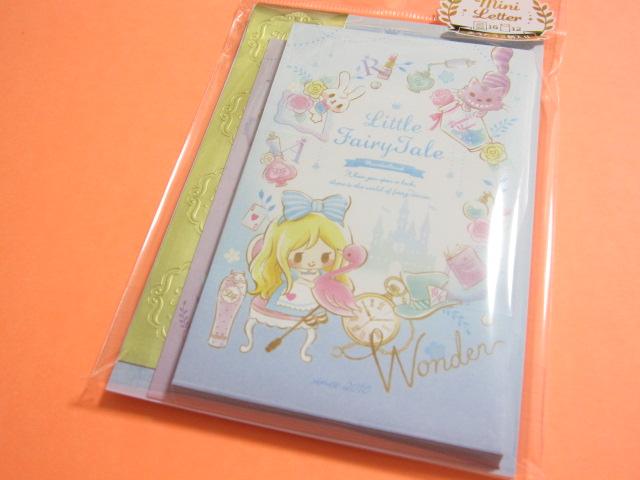 Photo1: Kawaii Cute Mini Letter Set Little Fairy Tale Q-LiA *Alice (24468)