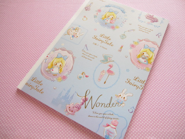 Photo1: Kawaii Cute B5 Notebook Little Fairy Tale Q-lia *Alice (24423)
