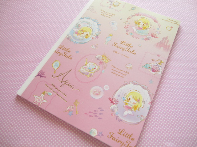Photo1: Kawaii Cute B5 Notebook Little Fairy Tale Q-lia *Little Mermaid (24424)