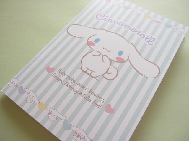 Photo1: Kawaii Cute A5 Notebook Sanrio Original *Cinnamoroll (93230-2)