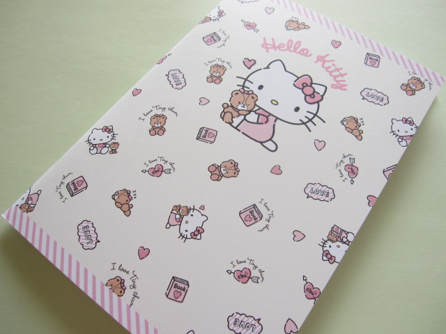 Photo1: Kawaii Cute A5 Notebook Sanrio Original *Hello Kitty (93211-6)
