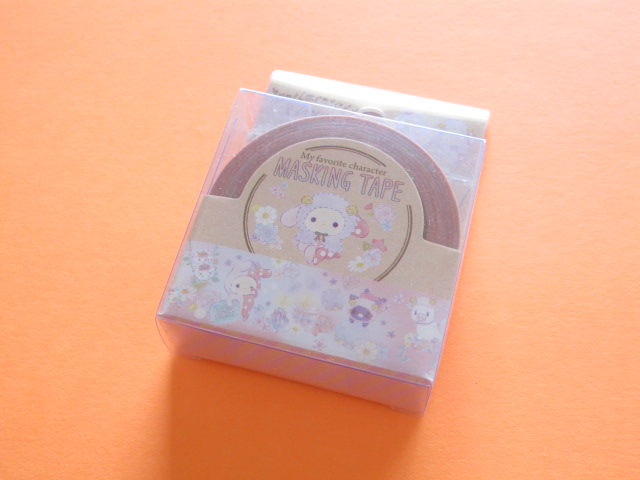 Photo1: Kawaii Cute Mini Masking Tape/Deco Tape Sticker San-x *Sentimental Circus (SE34907)