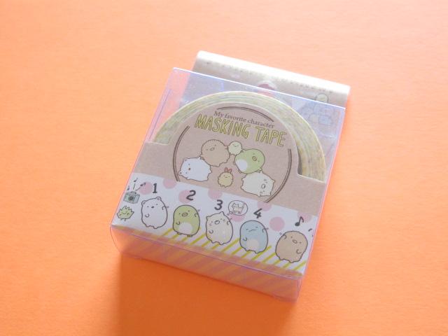 Photo1: Kawaii Cute Mini Masking Tape/Deco Tape Sticker San-x *Sumikkogurashi  (SE34906)