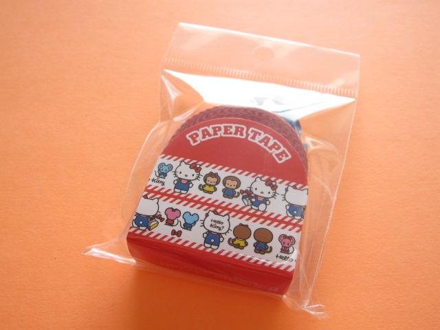 Photo1: Kawaii Cute Masking Tape/Deco Tape Sticker Sanrio Original *Hello Kitty (07535-3)