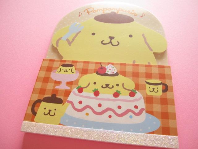 Photo1: Kawaii Cute お食事 Large Memo Pad Sanrio Original *POMPOMPURIN (92305-2)