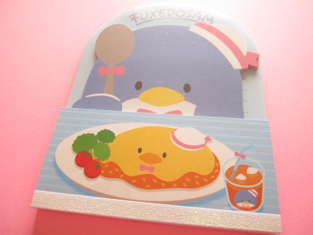 Photo1: Kawaii Cute お食事 Large Memo Pad Sanrio Original *TUXEDO SAM (92308-7)