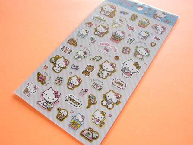 Photo1: Kawaii Cute Stickers Sheet Sanrio *Hello Kitty (好きなもの)