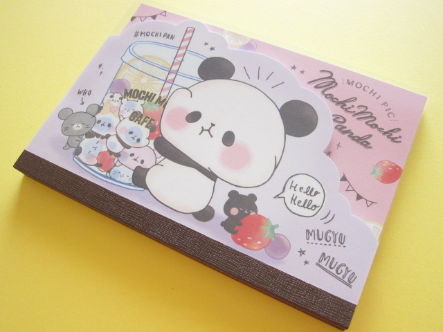 Photo1: Kawaii Cute Large Memo Pad  Mochi Mochi Panda Kamio *Sweets Picnic (06500)