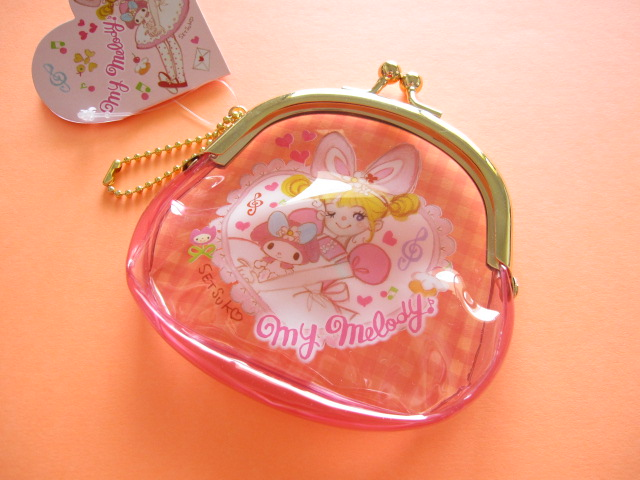 Photo1: Kawaii Cute Coin Case Sanrio Original *Tamura Setsuko×My Melody (32697-6)