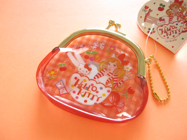 Photo1: Kawaii Cute Coin Case Sanrio Original *Tamura Setsuko×Hello Kitty (32696-8)