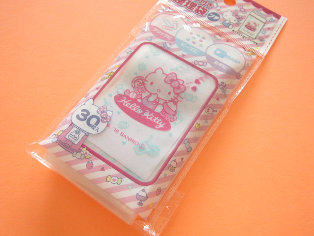Photo1: 30pcs Kawaii Cute Hello Kitty Mini Ziploc Bags Set (26098)