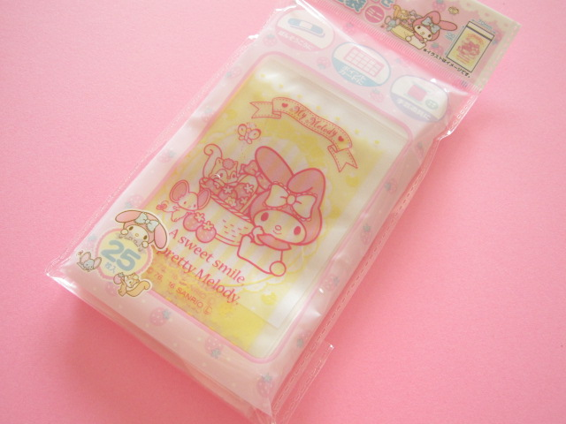 Photo1: 25pcs Kawaii Cute My Melody Mini Ziploc Bags Set (26109)