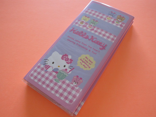 Photo1: Kawaii Cute Patapata Medium Memo Pad Sanrio Original *Hello Kitty (44485-5)
