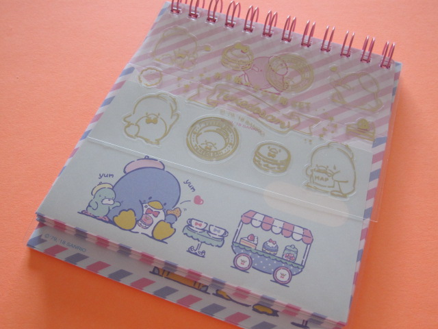 Photo1: Kawaii Cute Spiral Medium Memo Pad & Envelopes Set Sanrio Original *Tuxedosam (44477-4)
