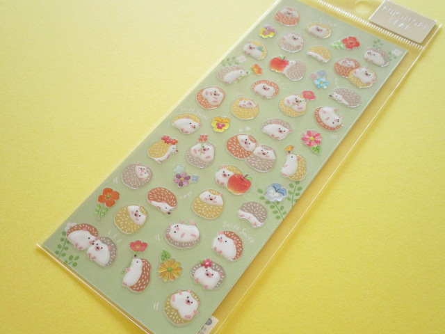 Photo1:  Kawaii Cute Pukumori Stickers Sheet  Mind Wave *ハリーズガーデン (79220)