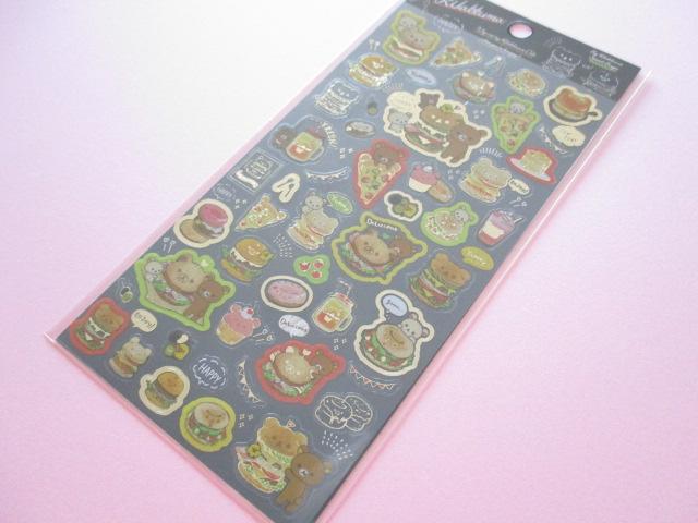 Photo1: Kawaii Cute Sticker Sheet Rilakkuma San-x *Rilakkuma Deli (SE35501)